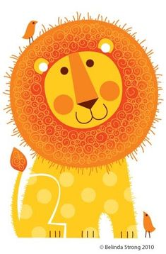 Meet Rory the lion. Been fiddling with some new greeting card ideas and he popped out... yet to decide whether he'll actually be a greeting...