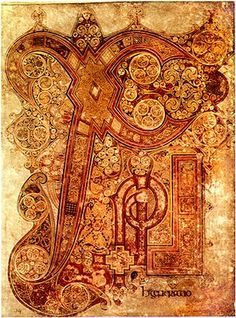 E Book Of Kells ... on Pinterest | Illuminated Manuscript, Book Of Kells and Roman Emperor