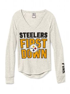 See more. Long-sleeve Thermal Tee - Victoria s Secret PINK - Victoria s  Secret Pitsburgh Steelers 1f54c185e