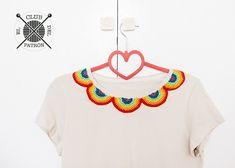 El blog de Dmc: El Club del Patrón: Customiza una camiseta con ganchillo