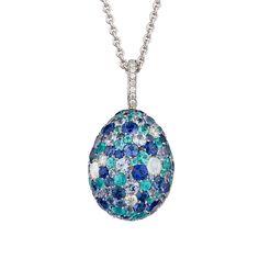Fabergé Emotion Blue Pendant #Fabergé #Emotion #pendant