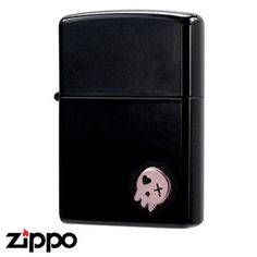 Skull Zippo - Skull Cutie  (Pink) featured on Jzool.com