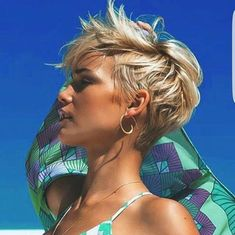 Likes, 97 Comments - Short Hairstyles Pixie Cut ( on Ins. - My list of women's hairstyles Long Pixie Hairstyles, Cool Hairstyles, Pixie Haircuts, Hairstyle Short, Medium Hairstyles, Hairstyles Haircuts, Hairstyle Ideas, Messy Pixie Haircut, Everyday Hairstyles