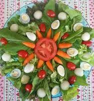 Resultado de imagem para saladas decoradas