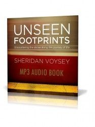 Yay! The audiobook version of Unseen Footprints is *finally* available in all iTunes, Audible and Amazon stores. 3 hours 48 minutes of digitally recorded bliss :).