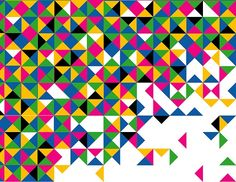 colour, pattern, triangles