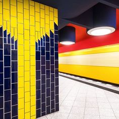 The new Berlin metro station.