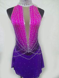 Masterclass   vestido de patinaje artístico vestido de