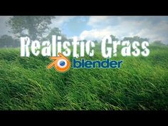 Beginner Blender Tutorial - Realistic Animated Grass! - YouTube