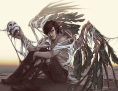 Sherlock wings fanart