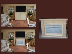 """I nostri camini possono essere realizzati anche al grezzo per essere personalizzati. In questo caso il cliente (nota galleria d'arte a Lugano) ci ha chiesto di realizzare un caminetto """"importante""""  (basti vedere il locale..) con vetro fume' per essere poi decorato in foglia oro come i 2 portavasi esistenti. Purtroppo non abbiamo le foto del prodotto finito e quindi l'abbiamo inserito nello scatto iniziale. Venduto a Lugano Lugano, Flat Screen, Frame, Home Decor, Note, Blood Plasma, Picture Frame, Decoration Home, Room Decor"""