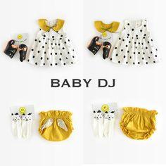 ドット3点SET | BABY DJ 子供服 出産祝い プレゼント キッズファッション ベビー服