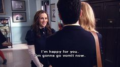 Images and videos of gossip girl queen b Gossip Girl Blair, Gossip Girls, Gossip Girl Quotes, Blair Quotes, Blair Waldorf Quotes, Dan Humphrey, Nate Archibald, Chuck Bass, Im Happy For You