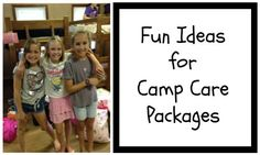 Over 60 Fun Ideas for Camp Care Packages