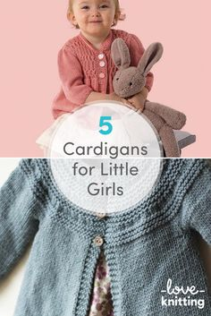 A favourite cardi can stave off a brisk nip in the air, protect little shoulders from hot sun, or provide a cosy layer to keep your little one warm. Find our 5 favorite cardigans for baby girls on the LoveKnitting blog!