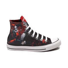 Converse All Star Harley Quinn Sneaker (can be found at Journeys - Size 10 womens or 8 mens)