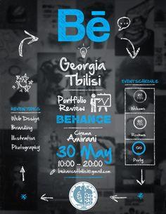 #BehanceReviews custom poster!