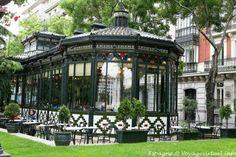 Café Gijón. Madrid.