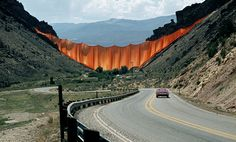 Christo and Jeanne-Claude, Valley Curtain, Rifle, Colorado, 1970-72