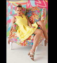 Trina Turk Spring Collection. Makeup by: Agostina