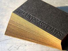 papier de haute qualité imprimés carte de visite