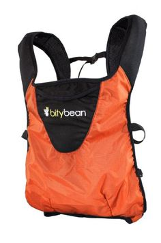 Bitybean UltraCompact Baby Carrier, Orange