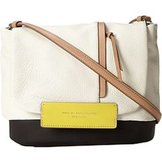 Marc by Marc Jacobs Round The Way Girl Colorblocked Messenger. Uhh yes please! 6pm.com has amazing prices on... everything!
