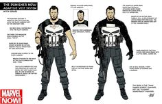 The Punisher Loadout - Concept Art by Mitch Gerads