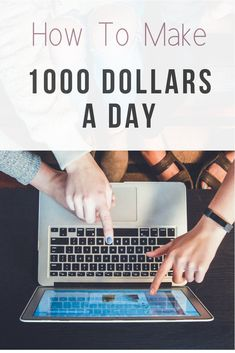 Learn how to make 1000 dollars a day (every day) online. These are the best online ideas for making money fast. Work From Home Jobs, Make Money From Home, Way To Make Money, Make Money Online, How To Make, Best Travel Websites, Cool Websites, Travel Guides, Travel Tips