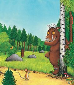 kinderboek: the Gruffalo
