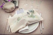 Decoración servilleta Nuestras bodas Our weddings http://momentsweddingblog.com