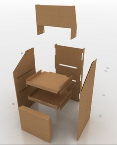 Stand concept by Alex Acher, via Behance