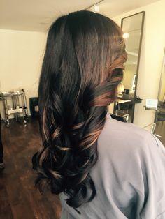 Color by Sarah #balayage #brunette #varinsalon #darkbrown #highlights #varinsalon #nyc