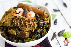 Dobbys+Signature:+Nigerian+food+blog+ +Nigerian+food+recipes+ +African+food+blog:+Afang+Soup+(Efik+style+vegetable+soup)