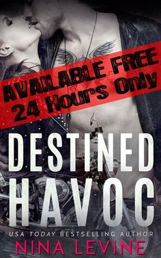 BOOK SALE: Destined Havoc by Nina Levine - for only 24 hrs it's FREE! - iScream Books