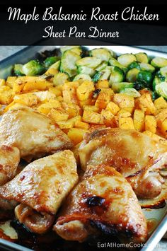 I've been loving sheet pan dinners. They're easy to make, healthy and there's an endless variety of flavors you can bring. It's also a great way to eat lots of veggies.