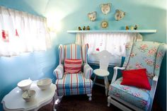 awesome Airstream cottage-style interior