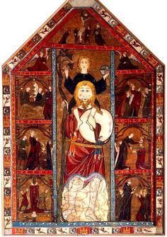 Resultado de imagen de san cristobal detalle del retablo dedicado a este santo