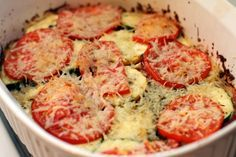 Sabby In Suburbia: Tastes of Summer - Tomato, Zucchini and Yellow Squash Bake