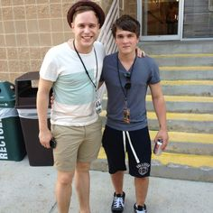 Olly and Josh