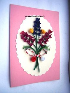 Atelier hirtie-quilling, felicitari -Monatibi. - Pagina 19 Quilling Cards, Paper Quilling, Gift Boxes, Envelopes, Minis, Gift Tags, Cross Stitch, Model, Handmade
