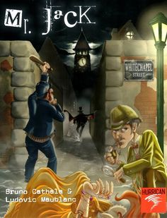 Mr. Jack - two player board game - Jack needs to escape the city and the detective is determined to capture Jack.