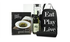 Pamper Hamper Gifts - Neil Perry Food and Wine Food Hampers, Gift Hampers, Wine Recipes, Gourmet Recipes, Mens Kitchen, Pamper Hamper, Wine Gifts, Thoughtful Gifts, Good Food
