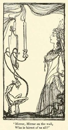 Illustration by Arthur Rackham for Snowdrop and Other Tales by the Brothers Grimm.