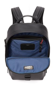Tumi Ashton Leather Morrison Backpack | 15% off 1st app order use code: 15FORYOU