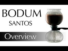 Bodum Santos Vacuum Coffee Pot Demonstration - YouTube