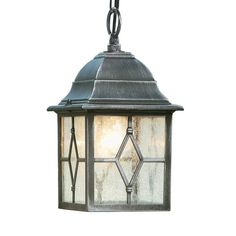 Genoa 1 Light Outdoor Hanging Lantern