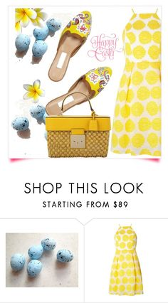 """Happy Easter"" by interesting-times ❤ liked on Polyvore featuring Dorothy Perkins, Oscar de la Renta and MICHAEL Michael Kors"