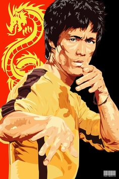 Peter Parker AKA Your friendly neighborhood Spider-Man. Nerd by day, Avenger by Night & always a ninja! Bruce Lee Poster, Bruce Lee Art, Brice Lee, Bruce Lee Pictures, Samurai, Koi Art, Little Dragon, Movie Poster Art, Famous Art