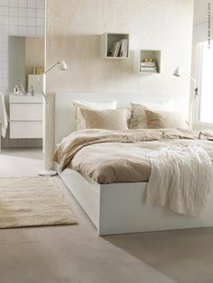 Ikea malm bed bed bed home bedroom bed with drawers white ikea malm bed High Bed Frame, Malm Bed Frame, Bed Frames, Ikea Small Spaces, Furniture For Small Spaces, Space Furniture, Ikea Bedroom, Home Decor Bedroom, Extra Bedroom